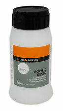 Daler Rowney Simply Gesso Primer Art & Craft Medium Oil & Acrylic WHITE - 500ml