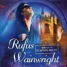 1 CENT CD Live From The Artist's Den - Rufus Wainwright