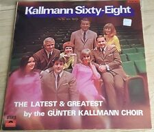 Gunter Kallmann Choir ‎– Kallmann Sixty-Eight Vinyl 1968 VGC