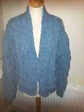 Hand knitted ladies chunky jacket