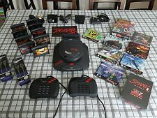 Atari Jaguar & Jaguar CD Consoles & Games Bundle Silly Skunk board and more