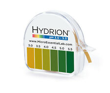 Micro Essential Lab 3110M18EA 325 Hydrion Short Range pH Test Paper