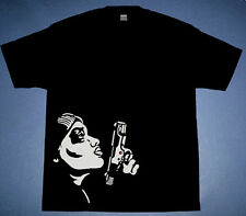 New Black White Money Heist tshirt 2 match jordan 11 xi 72-10 cajmear sz M