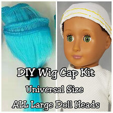 DIY Wig Cap Kit Universal Large Doll Head BJD American Girl Blythe Animator