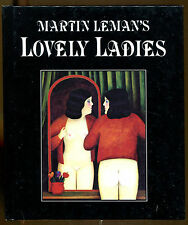 Lovely Ladies by Martin Leman-First Edition-1984-Illustrated