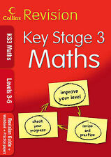 KS3 Maths L3-6: Revision Guide + Workbook + Practice Papers by HarperCollins...