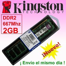 Memoria RAM 2GB DDR2 667 Mhz Kingston - ¡ Nueva !