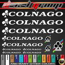 Colnago New Replacement Mountain Bike Frame Vinyl Decals Stickers 12pcs