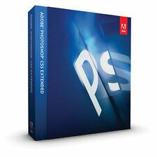 Adobe Photoshop CS5 Extended Windows Brand New