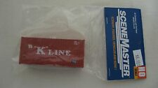 "Walthers HO 20' Container with Flat Panel ""K"" Line #949-8013 New in Package"