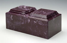 BURGUNDY-URN-FOR TWO-ADULTS-CREMATION-URN-FUNERAL-URNS-CREMATION-URNS