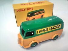 DINKY TOYS ATLAS - PEUGEOT D3A LAMPE MAZDA - VOITURE NOREV VEHICULE MINIATURE