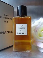 CHANEL No5 EDT 120cc 120ml SUPERB VINTAGE 1970s UNTOUCHED IN BOX SMELLS FABULOUS