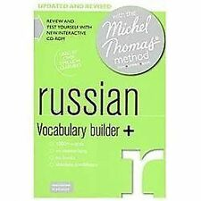 Russian Vocabulary Builder+: with the Michel Thomas Method (A  Hodder Education