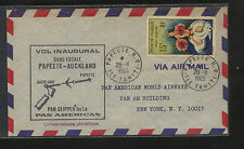 French Poloynesia  C39  on  airmail  cover to US   1965            MS0120