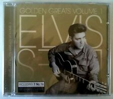 593 // CD ELVIS PRESLEY GOLDEN GREATS VOLUME 1 NEUF