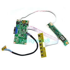 LCD Driver VGA Board LVDs Inverter Plug&Play Kit - Convert Laptop LCD to Monitor
