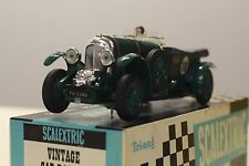 Scalextric C/64 Bentley (1929) mint condition, excellent quality box