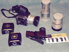 HASSELBLAD 500C CAMERA AND LENSES