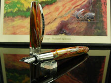 Visconti Van Gogh Pollard Willows Fountain Pen, Resin, Palladium trim, M