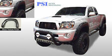 "BLACK TEXTURED Pocket Rivet Fender Flares 05-11 Toyota TACOMA 60.3"" BED ONLY"