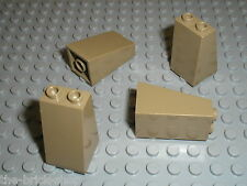 LEGO DkTan slope brick ref 3684 / set 7627 7307 7327 7326 4192 ...
