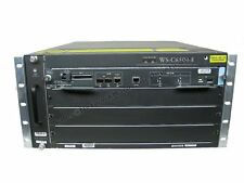 Cisco  6504-E Chassis 4-Slot WS-C6504-E w/ Dual AC & VS-S720-10G-3C *Bundle*