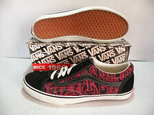 VANS CLASSIC OLD SKOOL SINCE 66 VINTAGE MEN SHOES BLACK/RED 3652576130 SZ 13 NEW