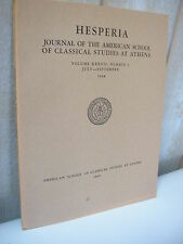 HESPERIA journal of classical studies at Athens 1968 n°3