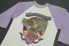 S * vtg 80s 1981 MOLLY HATCHET raglan tour t shirt * 94.9
