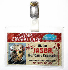 Friday The 13th Jason ID Badge Camp Counselor Cosplay Prop Costume Comic Con