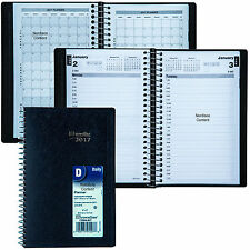 """2017 Brownline C2504.81T Daily Planner Appointment Book, 8 x 5"""""""