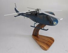 AH-1 Westland Scout AH1 NAVY Westland Helicopter Desk Wood Model Big New