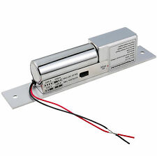 Electric Bolt Lock Fail-Safe NC Mode DC 12V For Access Control Wood Metal Door