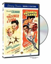 THE PRISONER OF ZENDA (1937 & 1952) 2 movies - DVD - UK Compatible english cover
