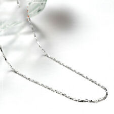 Authentic Pure Platinum 950 Necklace Bling Ingot Link Chain 17.3 inch