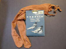 NEW/PKG CAPEZIO 1818 BODYTIGHTS Cocoa Nude Suntan Black