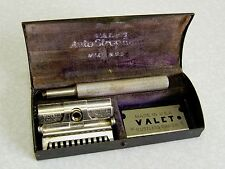 Antique Valet Autostrop Safety Razor Set 1912 pat USA