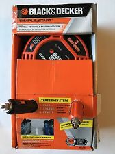 BLACK & DECKER SIMPLE START JUMP STARTER VEHICLE TO VEHICLE BATTERY BOOSTER