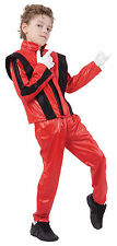 Childrens Michael Jackson Fancy Dress Costume Superstar CHILDS TRAJE XL