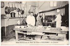 CPA 37 - VOUVRAY (Indre et Loire) Hôtel restaurant du Pont-de-Cisse. La Cuisine