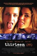 Thirteen Original Single-Sided One Sheet Rolled Movie Poster 27x40 NEW 2003