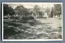 China, Second Sino Japanese War. Military Camp  Vintage silver print. Vintage Ch