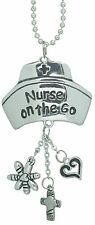 Car Charm - Nurse on the Go - Hang from Your Rear View Mirror!