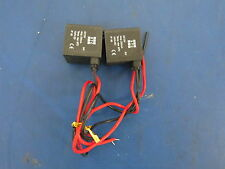 Lot of 2 STC Valve Solenoid Coil Actuator DC12V Amp. 250mA - Great Deal!