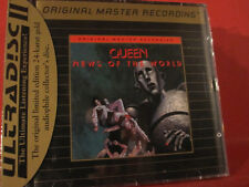 "MFSL-UDCD 588 QUEEN "" NEWS OF THE WORLD"" (MFSL-GOLD-CD/USA/FACTORY SEALED)"