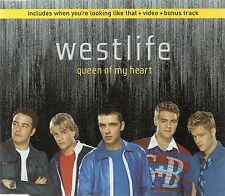 WESTLIFE - QUEEN OF MY HEART (3 tracks plus video, CD single)