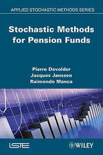 Stochastic Methods for Pension Funds, Pierre Devolder