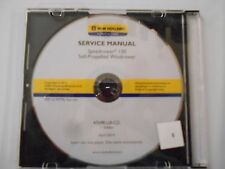 NEW HOLLAND SPEEDROWER 130 SELF - PROPELLED WINDROWER SERVICE MANUAL