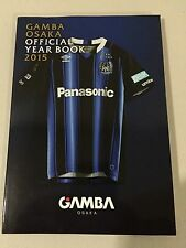 Japan GAMBA OSAKA J.League 2015 YEARBOOK team/squad guide USAMI ENDO KONNO MINT